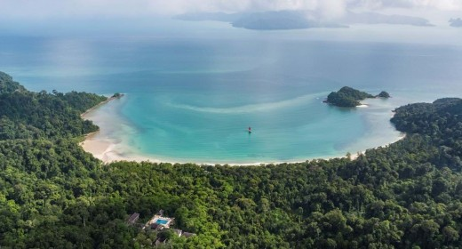 The datai aerial view